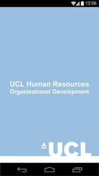 UCL HR Events poster