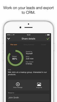 Flier - business networking apk screenshot