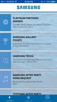 Samsung Platinum Partners poster