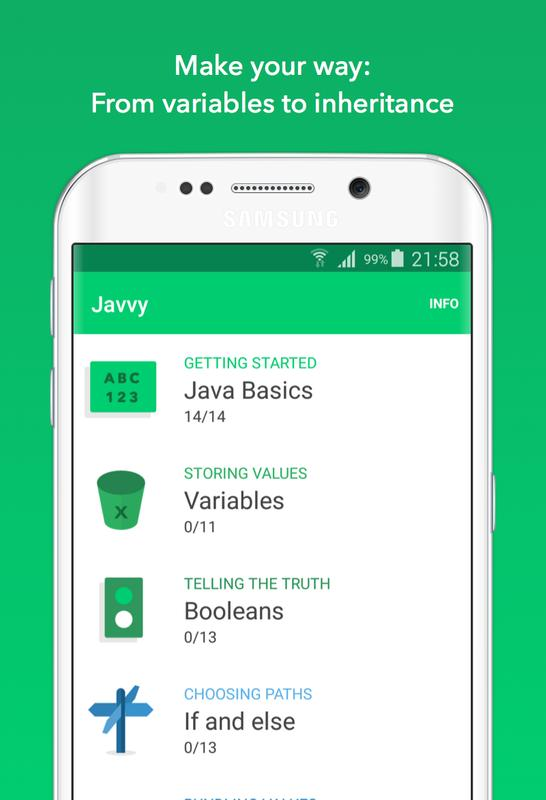 javvy learn to code in java apk download free