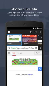 Snap Browser apk screenshot