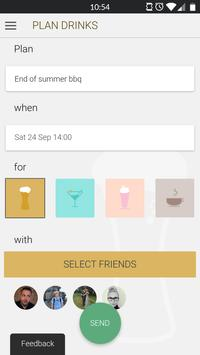 drinks app poster