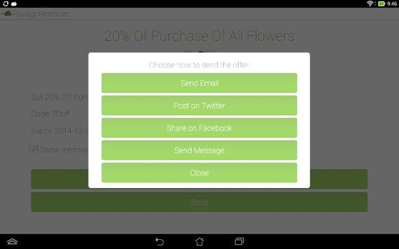 Promoter apk screenshot