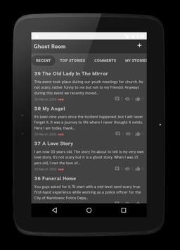 Ghost Room Scary Ghost Stories apk screenshot
