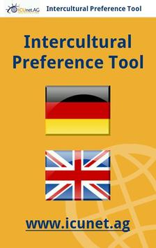 Intercultural Preference Tool poster