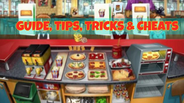 New Guide for cooking fever poster