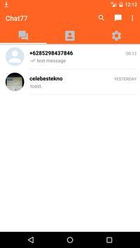 Chat 77 apk screenshot