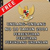 Pembentukan Peraturan UU icon