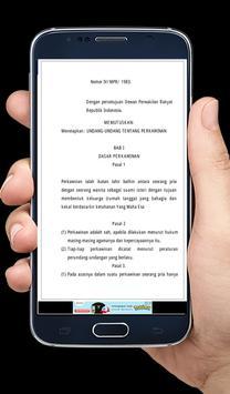 UU Perkawinan apk screenshot
