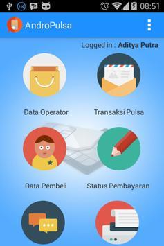 AndroPulsa - Penjualan Pulsa apk screenshot