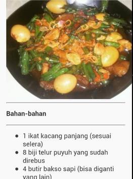 Masakan Indonesia apk screenshot