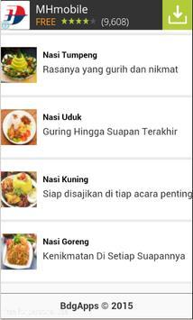 Resep Nasi Enak apk screenshot
