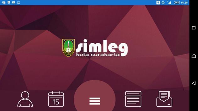 Simleg DPRD Surakarta apk screenshot