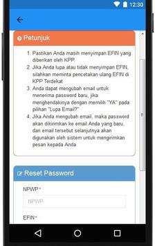 DJP Online apk screenshot