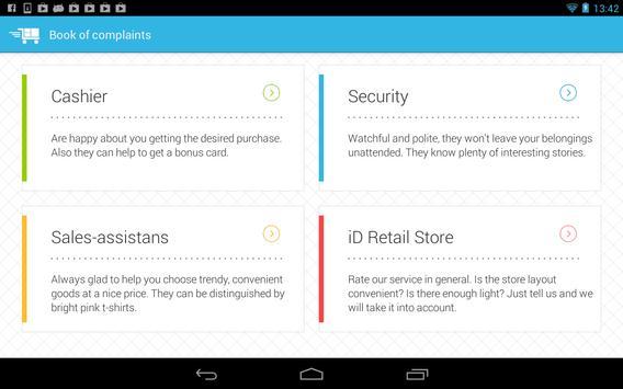 iD Retail Pad 1.0 apk screenshot