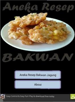 Aneka Resep Bakwan Jagung poster