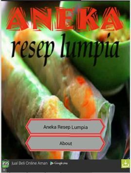 Aneka Resep Lumpia poster