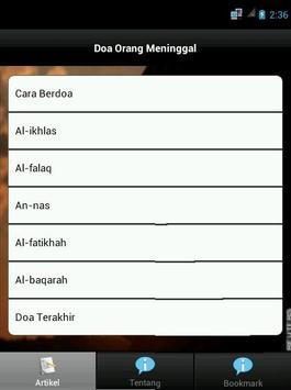 Doa Orang Meninggal apk screenshot