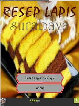 Resep Lapis Surabaya poster