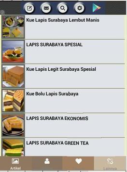 Resep Lapis Surabaya apk screenshot