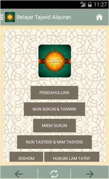 Belajar Tajwid Al-Qur'an poster