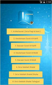 Doa Al-Ma'tsurat poster