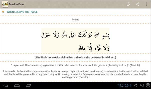 Muslim Duas apk screenshot