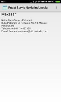 Alamat Servis Nokia Indonesia apk screenshot