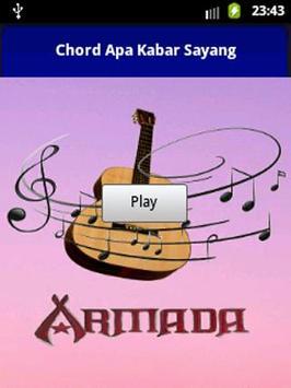 Chord Gitar Apa Kabar Sayang poster