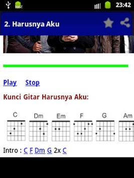Chord Gitar Harusnya Aku apk screenshot