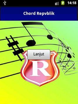 Chord Republik Selimut Tetngga poster