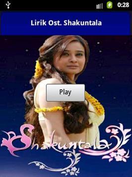 Lirik Ost Shakuntala poster