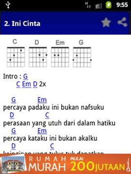 Chord Gitar Seperti Kemarin apk screenshot