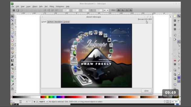 Belajar Inkscape apk screenshot