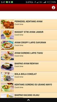 Resep Makanan Bekal Sekolah poster