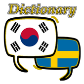 Swedish Korean Dictionary icon