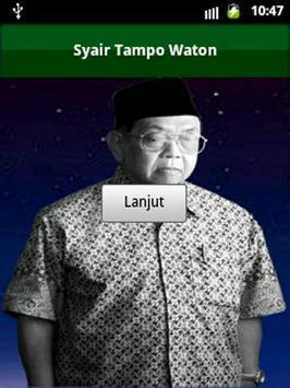 Gus Dur Syair Tampo Waton poster