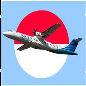 Pesawat Maskapai Indonesia 图标