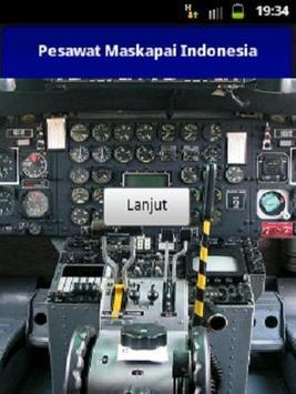 Pesawat Maskapai Indonesia poster