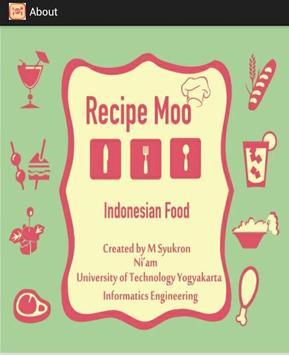 Recipe Moo apk screenshot