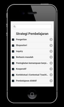 Strategi Pembelajaran apk screenshot