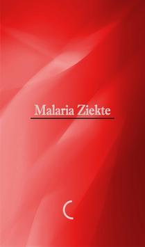 Malaria Ziekte poster