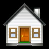Mountain house plans icon