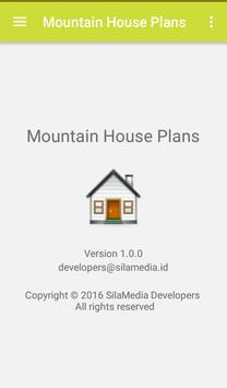 Mountain house plans apk screenshot