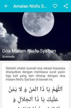Amalan Nisfu Sya'ban apk screenshot