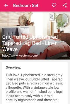 Bedroom Set apk screenshot