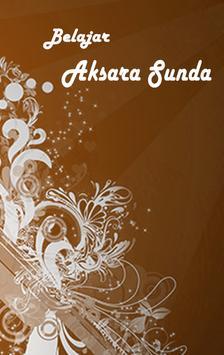 Belajar Aksara Sunda poster