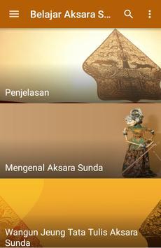 Belajar Aksara Sunda apk screenshot