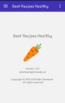 Best Recipes Healthy apk screenshot