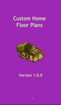 Custom Home Floor Plans poster